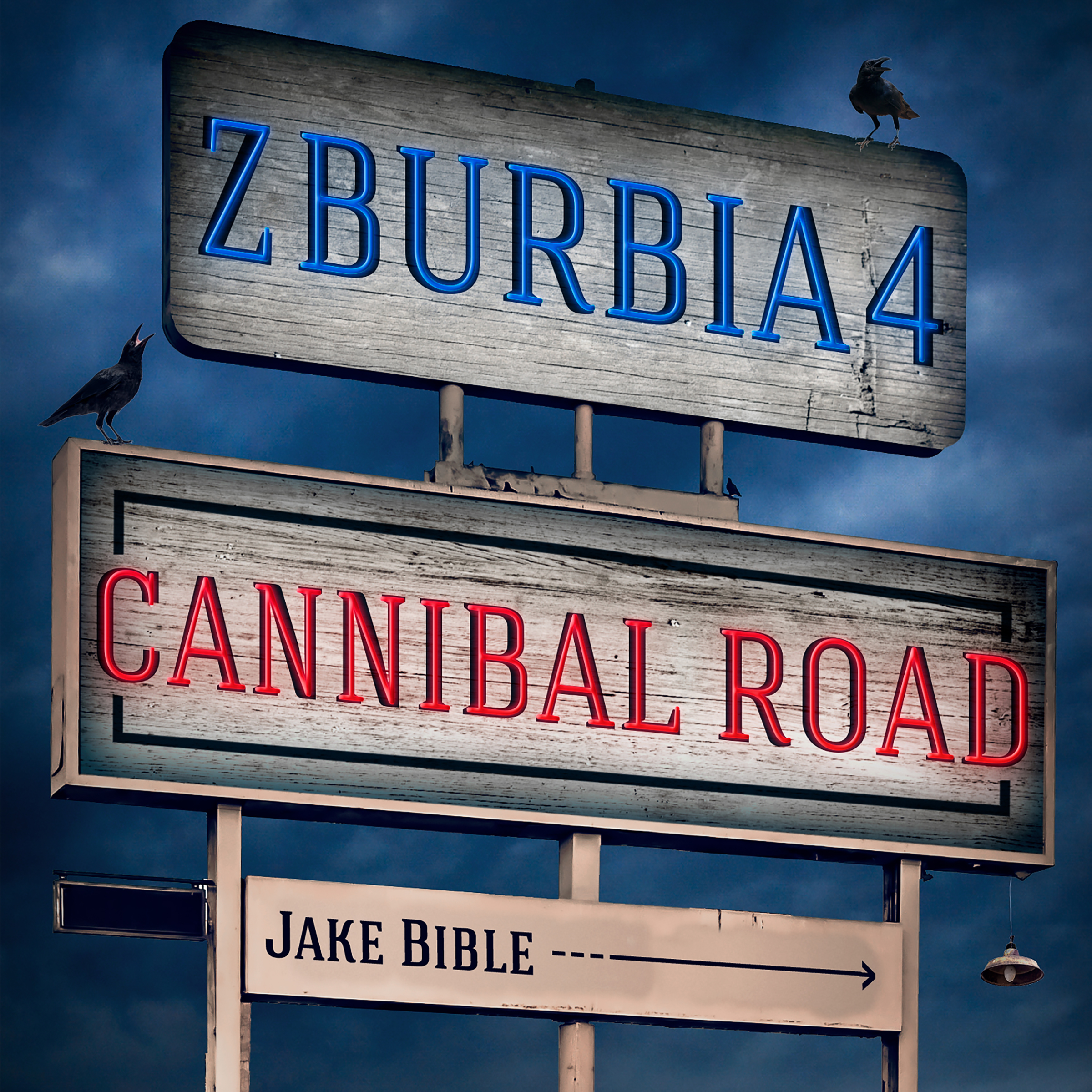Z-Burbia 4: Cannibal Road | Jake Bible Fiction